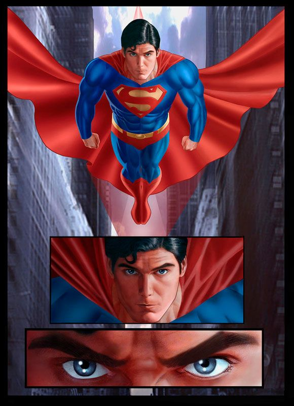 Man Of Steel 50 High Flying Superman Illustrations You Must See