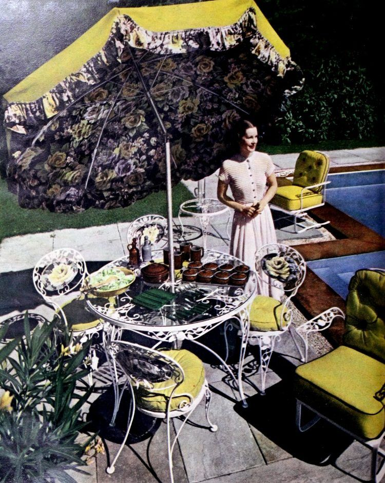 See 60 Vintage Patio Furniture Sets That Offered Outdoor Relaxation The Old Fashioned Way Vintage Patio Furniture Vintage Patio Vintage Outdoor Furniture