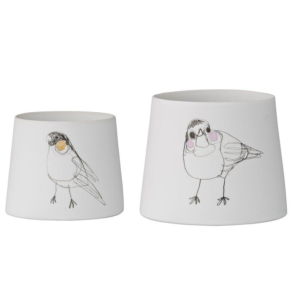 Birds Ljuslykta 2-Pack c21d545f70da5