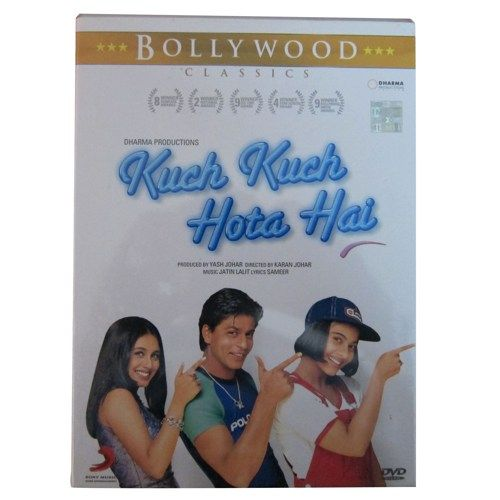 Kuch Kuch Hota Hai A Shahrukh Khan Superhit Bollywood Film Shalinindia Movies Music On Artfire Kuch Kuch Hota Hai Hindi Movies Shahrukh Khan