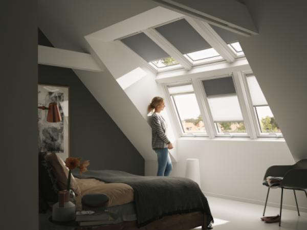 Zolder met velux dakraam voor voldoende daglicht lucht en extra