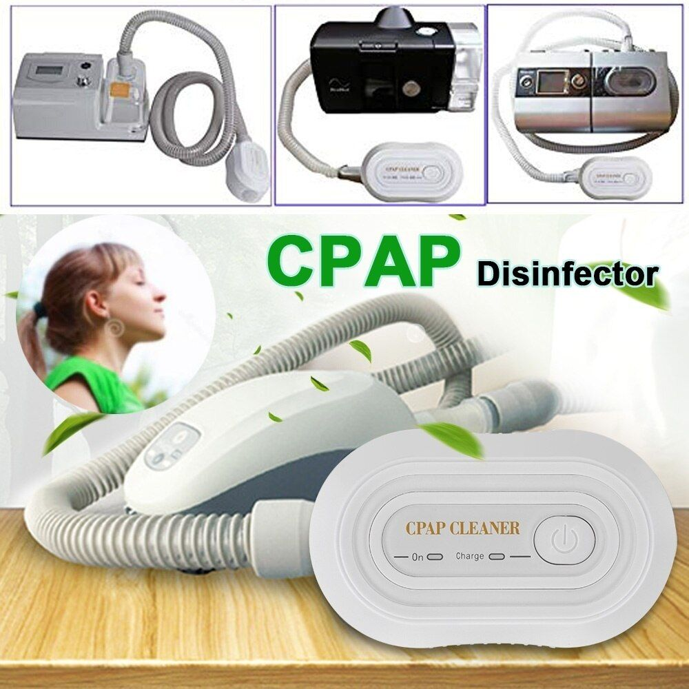 Portable Mini Cpap Cleaner Disinfector Respirator Disinfection Machine Health Breathing Air Purifier Ventilator Disinfector Air Purifier Cpap Cleaners
