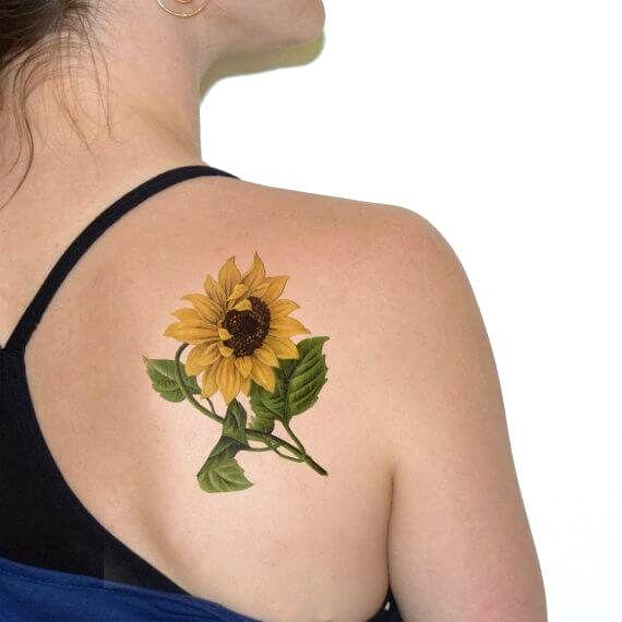 Photo of Sunflowers Tattoo Ideas