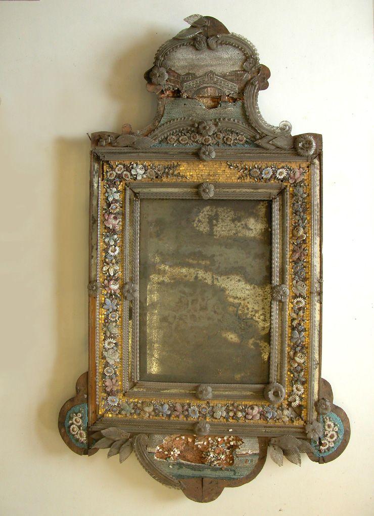 Venetian Mirror End Of 19 Th Century Things Sometimes