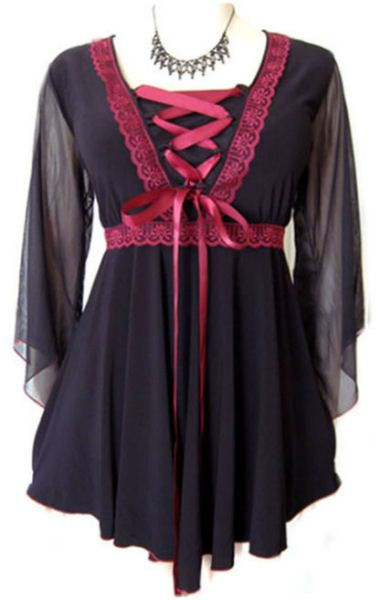 plus size goth clothes – Fat Chance Fashions