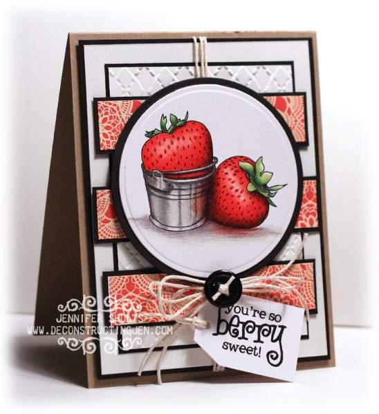 So Berry Sweet by deconstructingjen - Cards and Paper Crafts at Splitcoaststampers