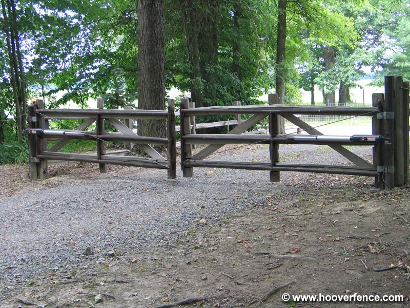 Hmmm, heavy duty gate for access to pasture through yard ...