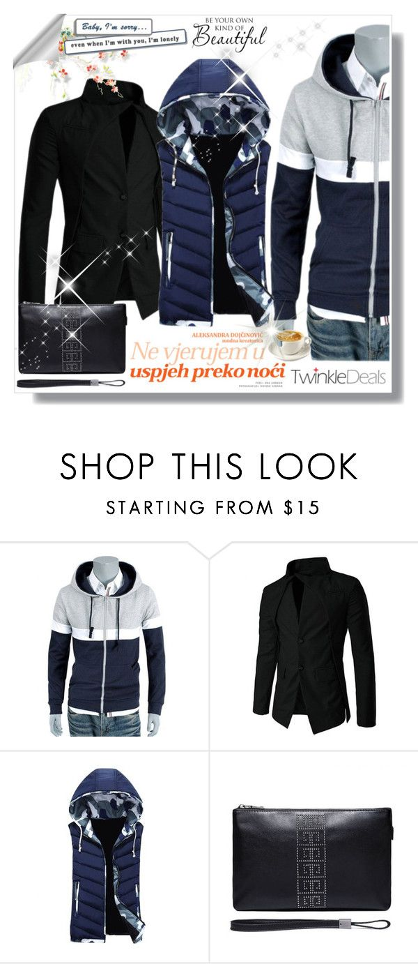 """""""Baby I am sory..."""" by malasirena989 ❤ liked on Polyvore featuring WALL, men's fashion and menswear"""