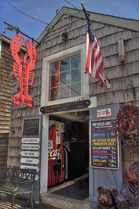 Roy Moore Lobster Company / Rockport, Massachusetts / by Joann Vitali / Fine Art America