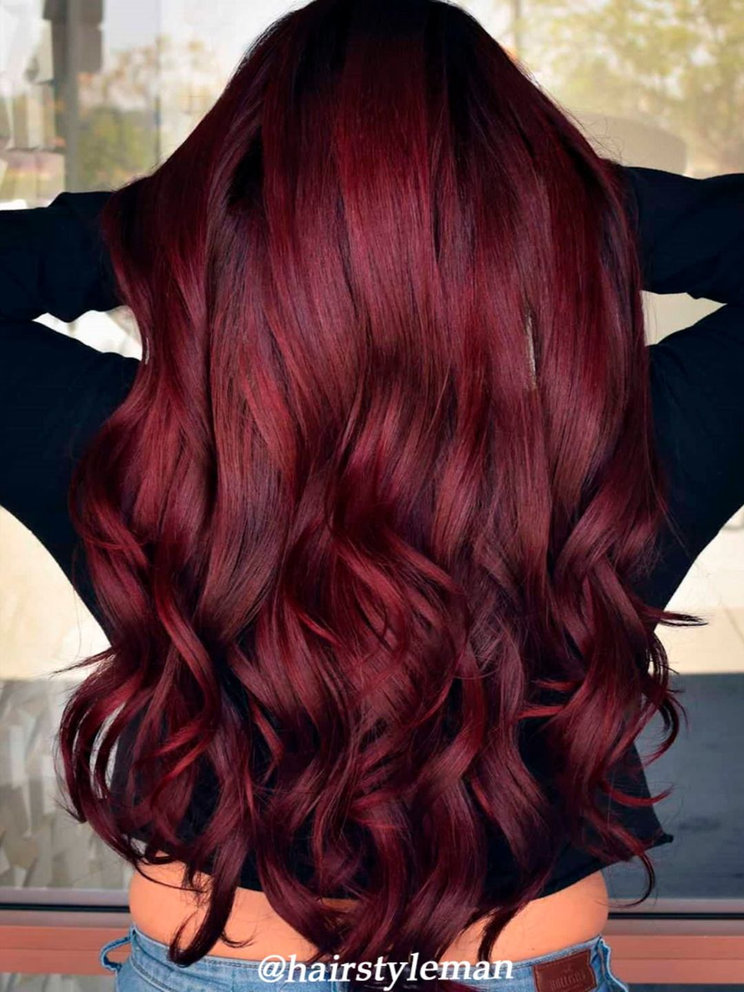 5 Of The Cutest Hair Color Ideas For 2020 Stylish Belles In 2020 Red Hair Color Dark Red Hair Color Wine Red Hair