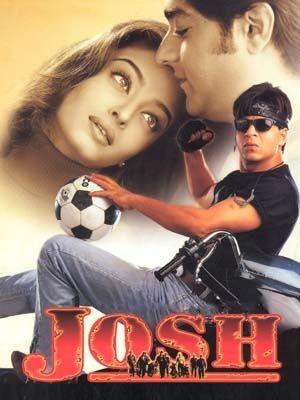 Shah Rukh Khan in Josh   Bollywood posters, Bollywood movies, Bollywood  movie