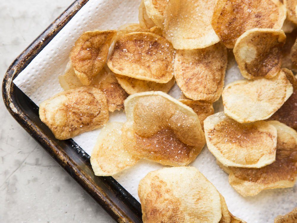 Potato Chips. Easy and perfect solution when you want a fresh potato treat.