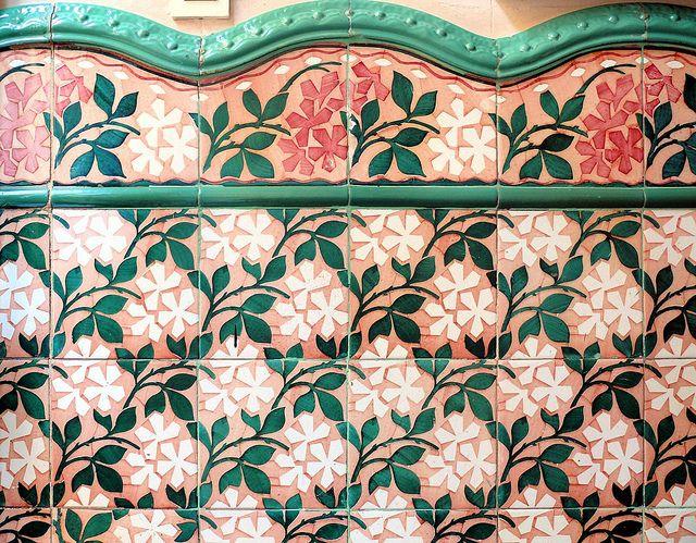 Barcelona   Vilardell 001 F Kacheln, Barcelona, Mosaikfliesen, Steinböden,  Wohnzimmerentwürfe, Haus