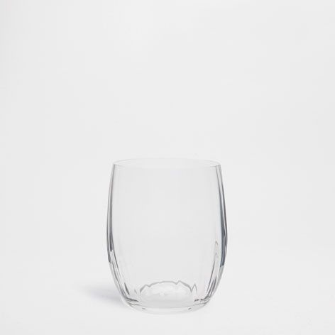 Optical Honeycomb Water Glass - Glasses - Glassware - Tableware   Zara Home Spain