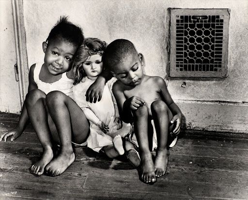 Children with doll, Washington, D.C 1942