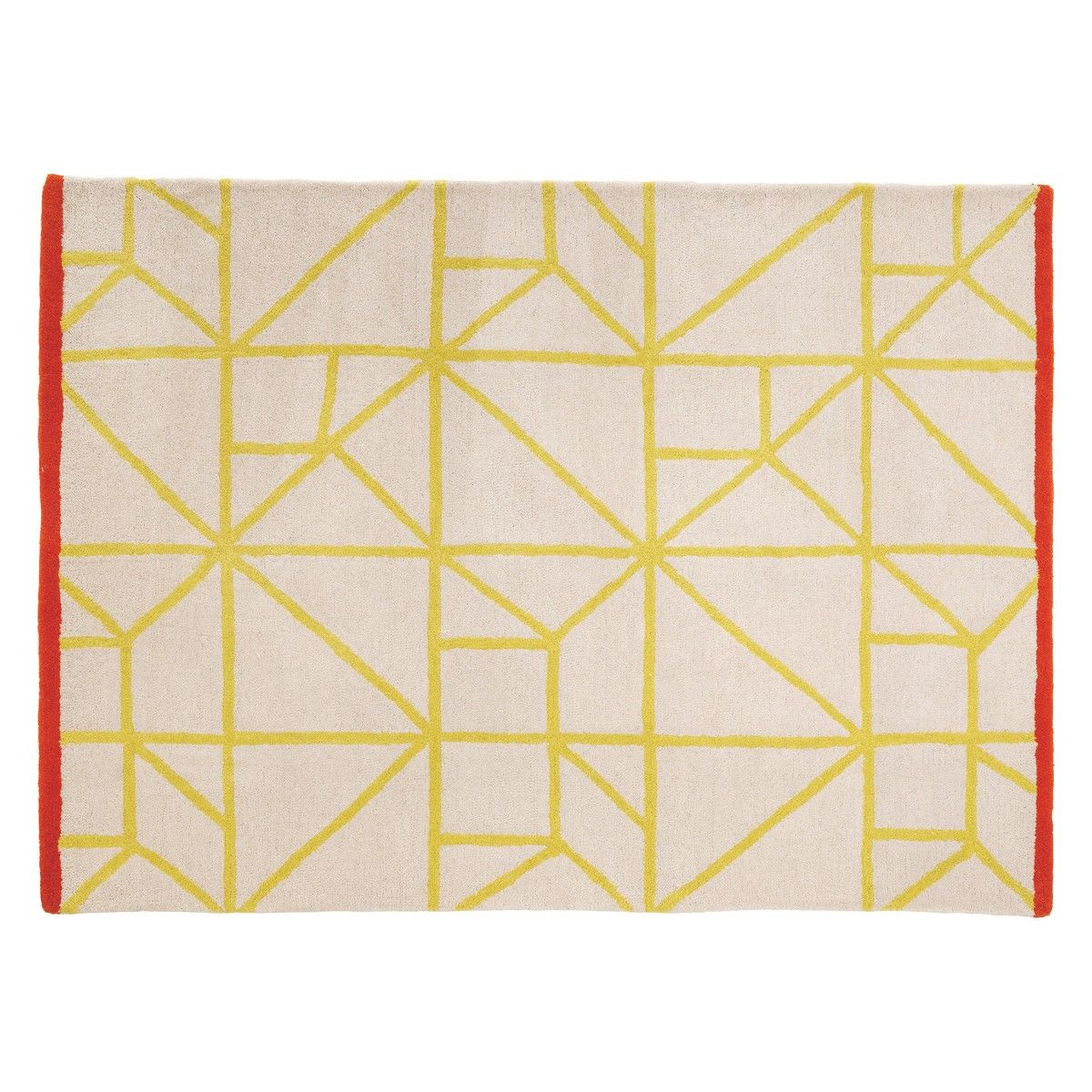 Kato Small Natural And Yellow Pile Rug 120 X 180cm Buy Now At Habitat Uk Rugs Rugs Uk Rugs And Mats