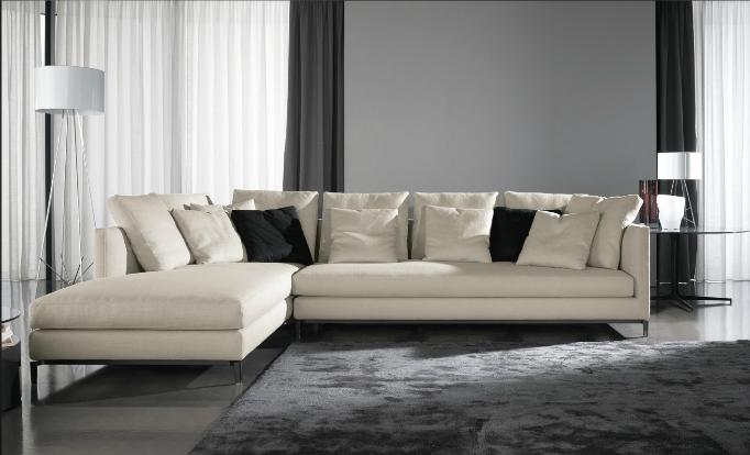 andersen slim chaise lounge minotti - Modernes Tagesbettgestell