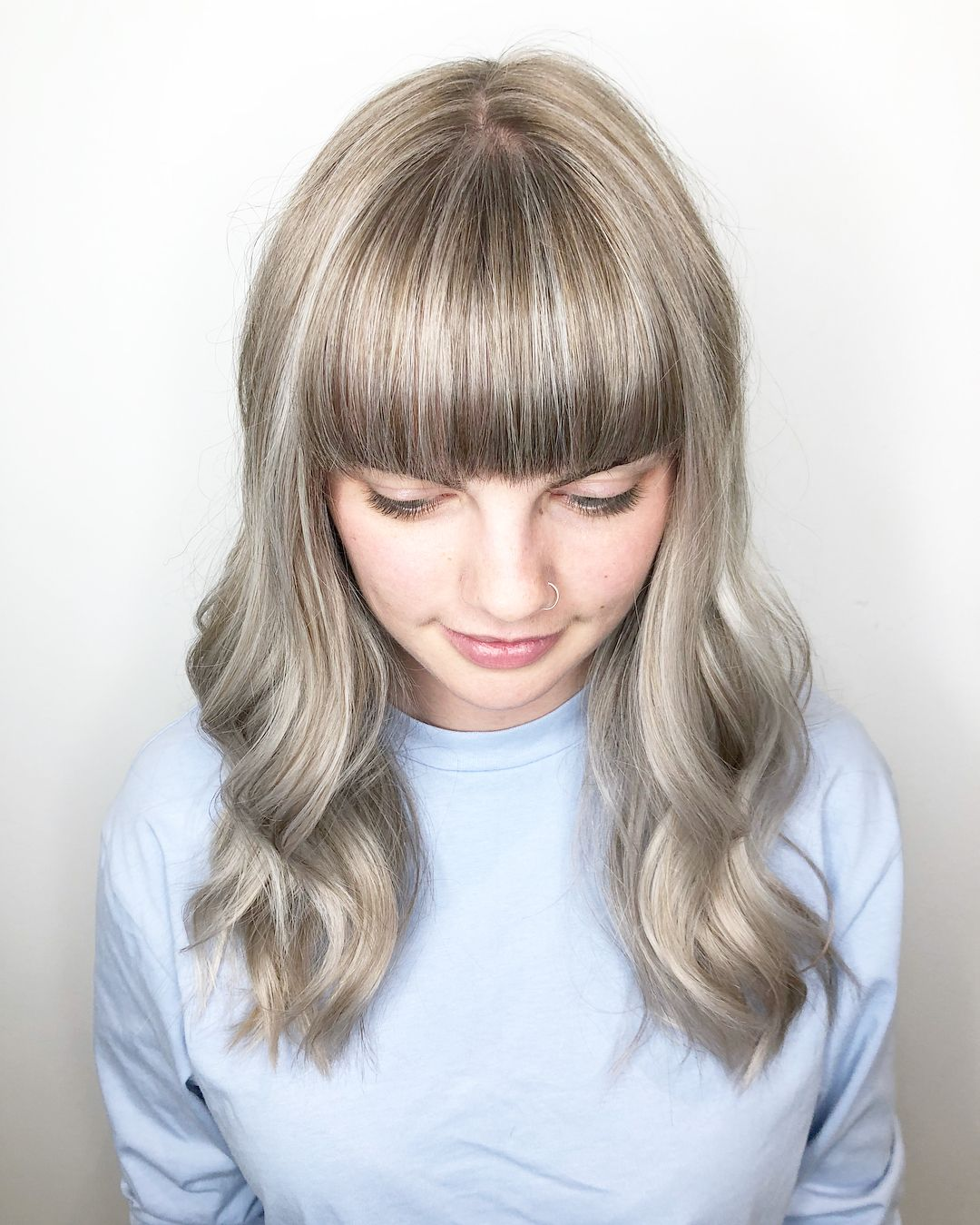 Hair Color Landing Page