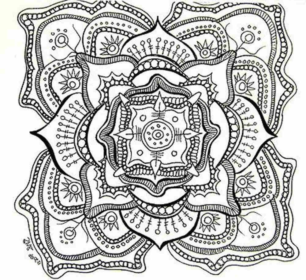 Mandala pages for coloring - Coloring A Christian Mandala Yahoo Image Search Results