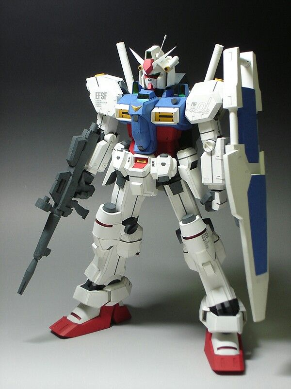 Gundam Paper Model!! | paper | Papercraft download, Gundam