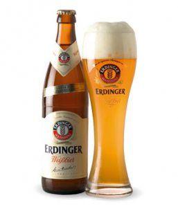 Erdinger Weissbier Cerveza Alemana Botellas De Cerveza Y