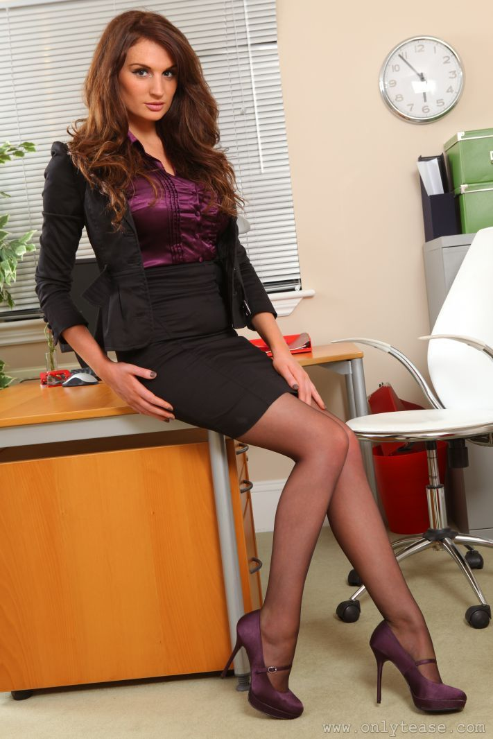 Purple | Hot 2 | Pinterest | Office Attire Satin And Business Dresses
