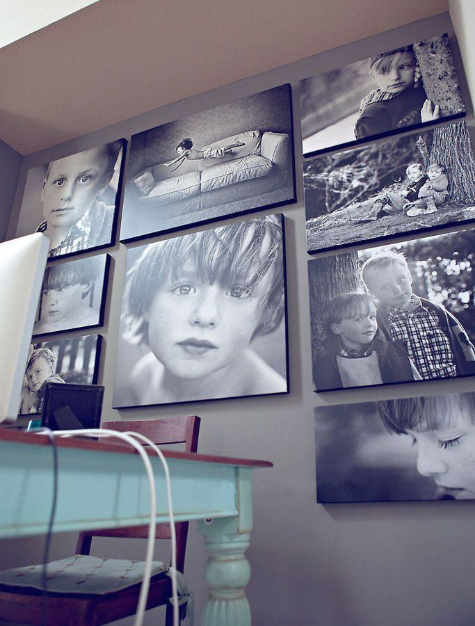 нас печать фотографий на стену последних