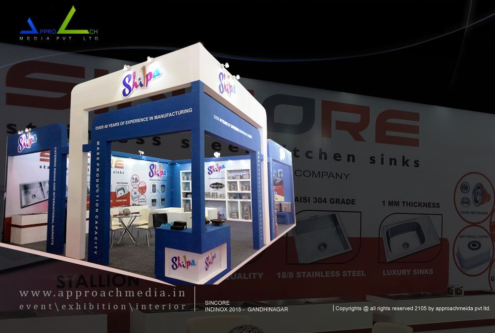 Exhibition Stall Manufacturer In Chennai : Exhibition stall design company in india award winning stall