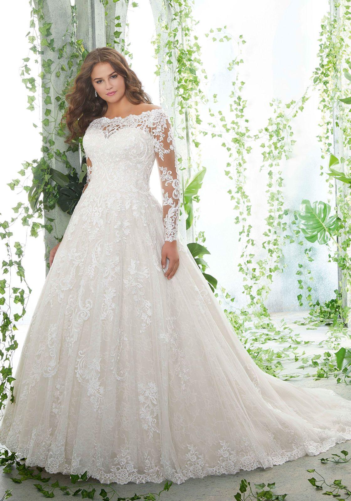 Patience Plus Size Wedding Dress Morilee In 2020 Plus Wedding