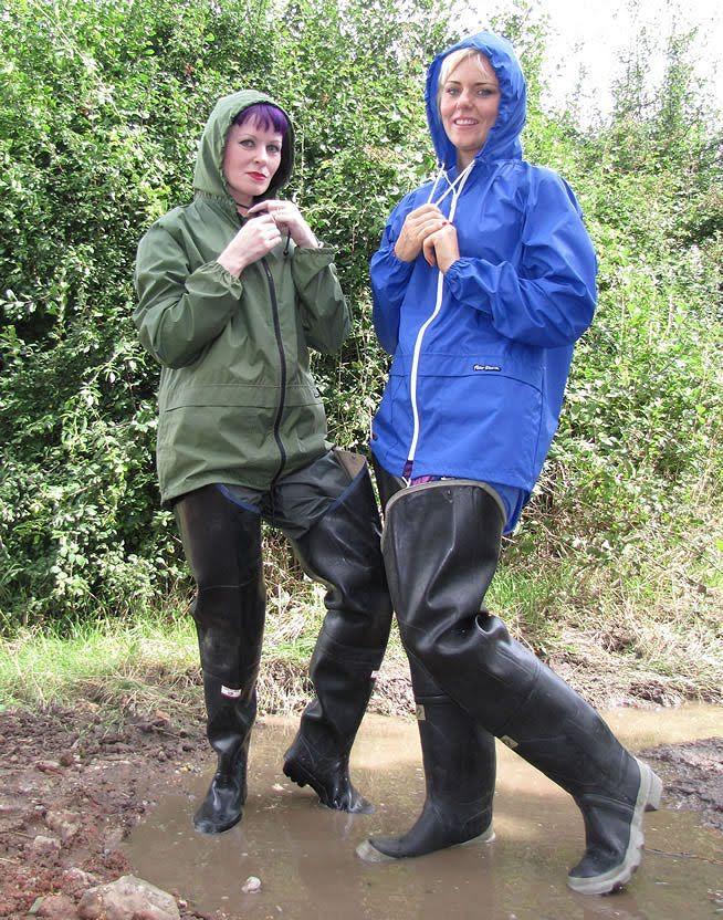muddy wader fetish