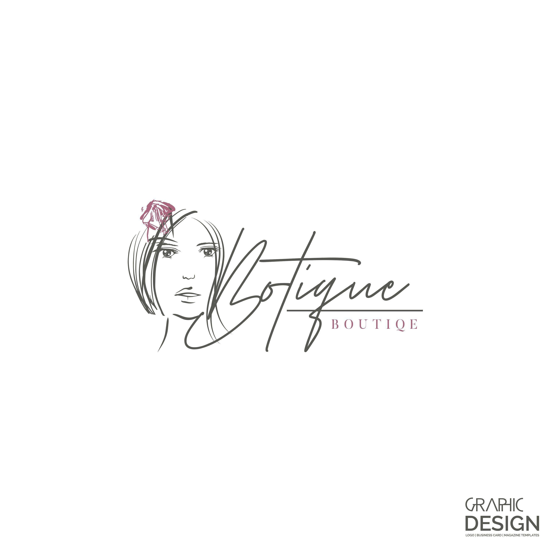 Boutique Logo Design New Modern Logo Design Make Up Studio Etsy Boutique Logo Modern Logo Modern Logo Design