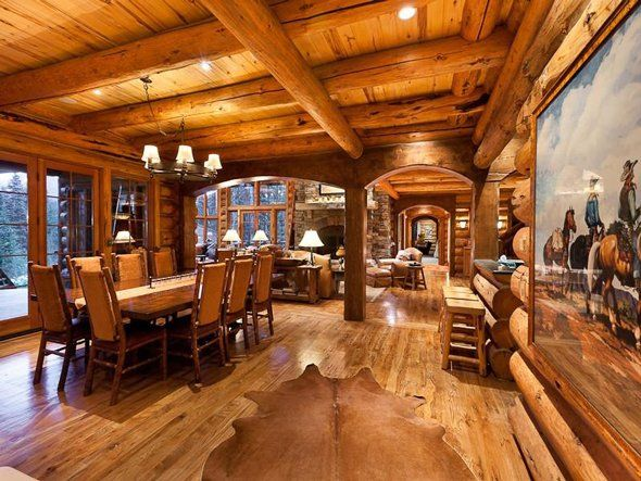 Ex nbc sports chair dick ebersol is selling his telluride for Selling a log home