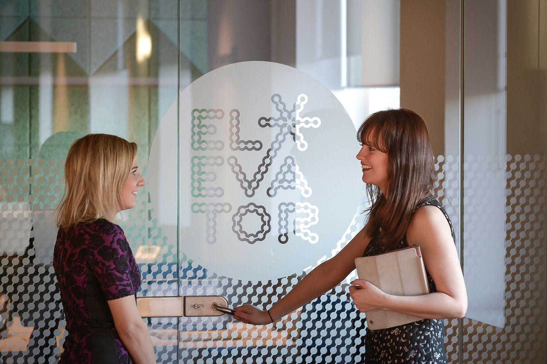 Elevator Aberdeen   visual brand and workplace interior design