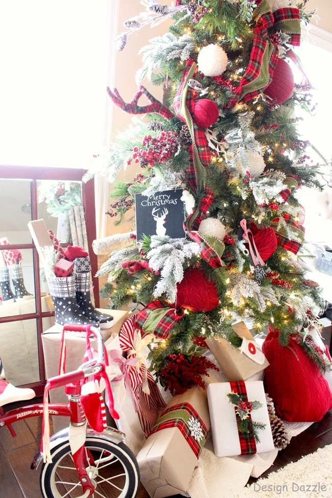 Lumberjack Christmas Tree Michaels Dream Challenge 2015