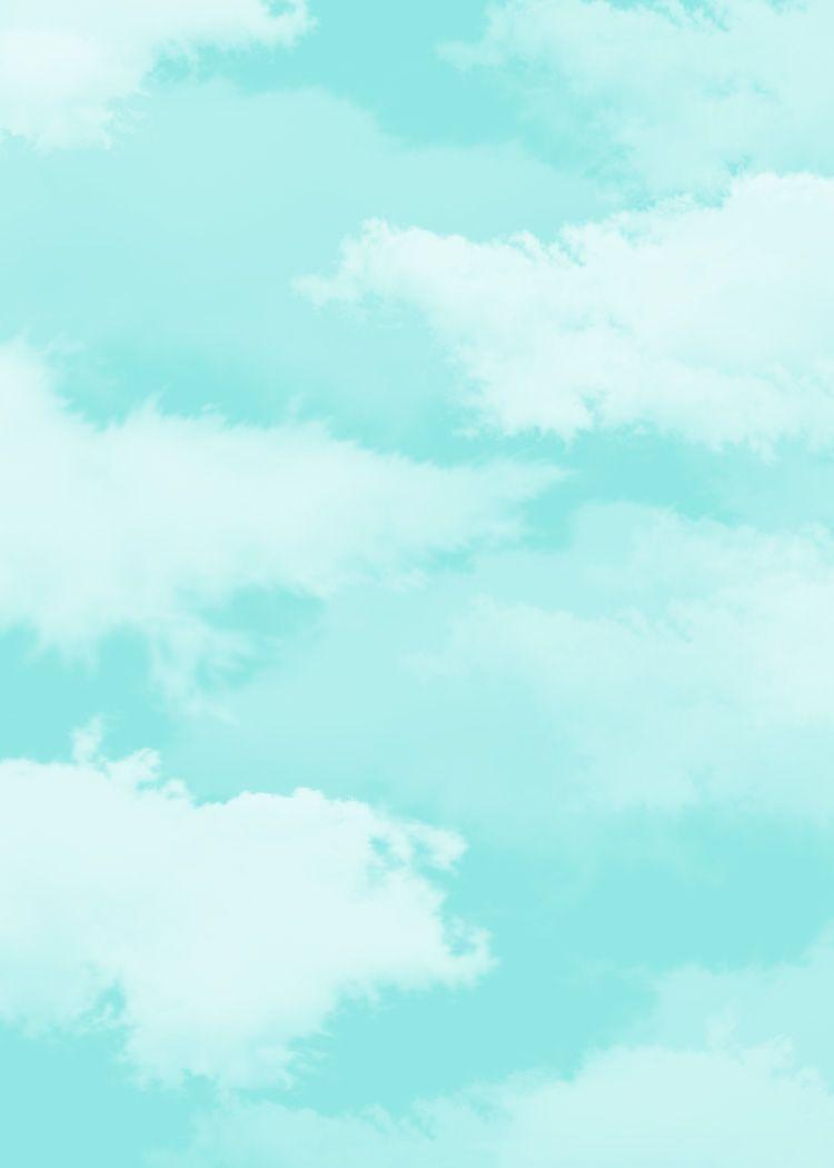 Scrapbook paper clouds - Cloud