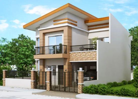 Desain Rumah Minimalis Modern 2 Lantai 4 Kamar Tidur Desain Rumah Rumah Minimalis Rumah