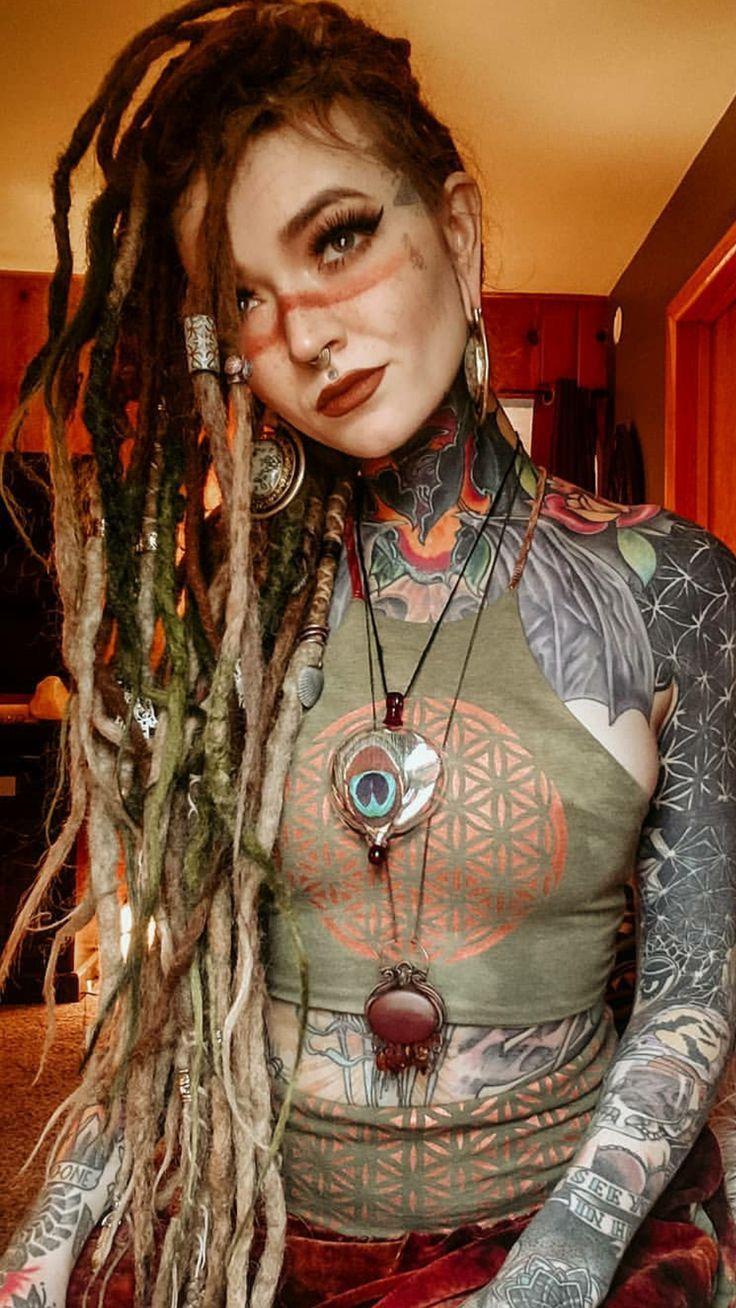 La modella tatuata e fashion blogger Sammi Jefcoate # Tattooed Models – Tattooed Models