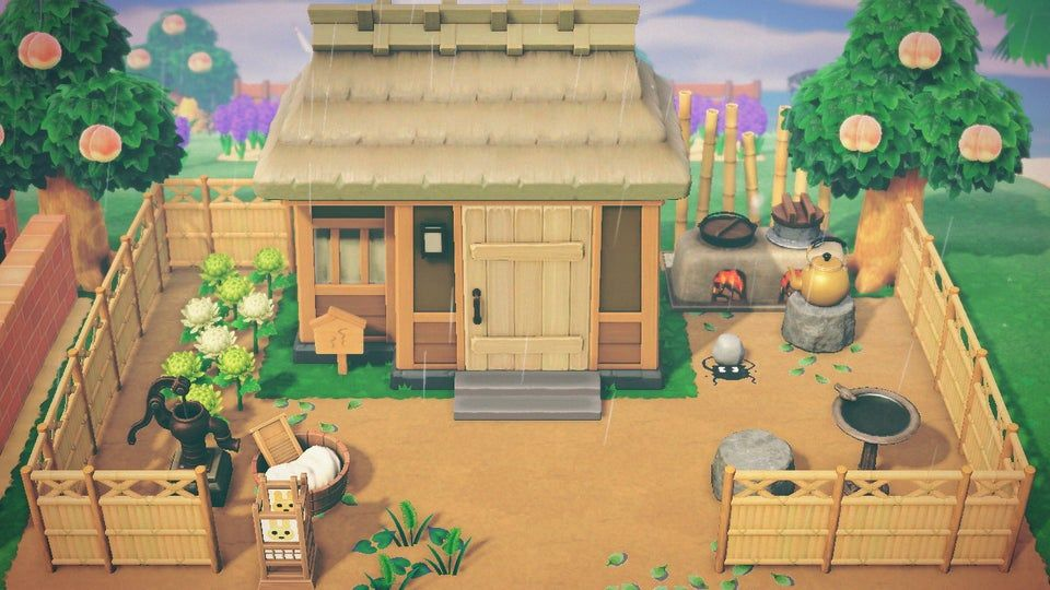 Coco S House Animalcrossing Coco Animal Crossing Japanese Animals Animal Crossing