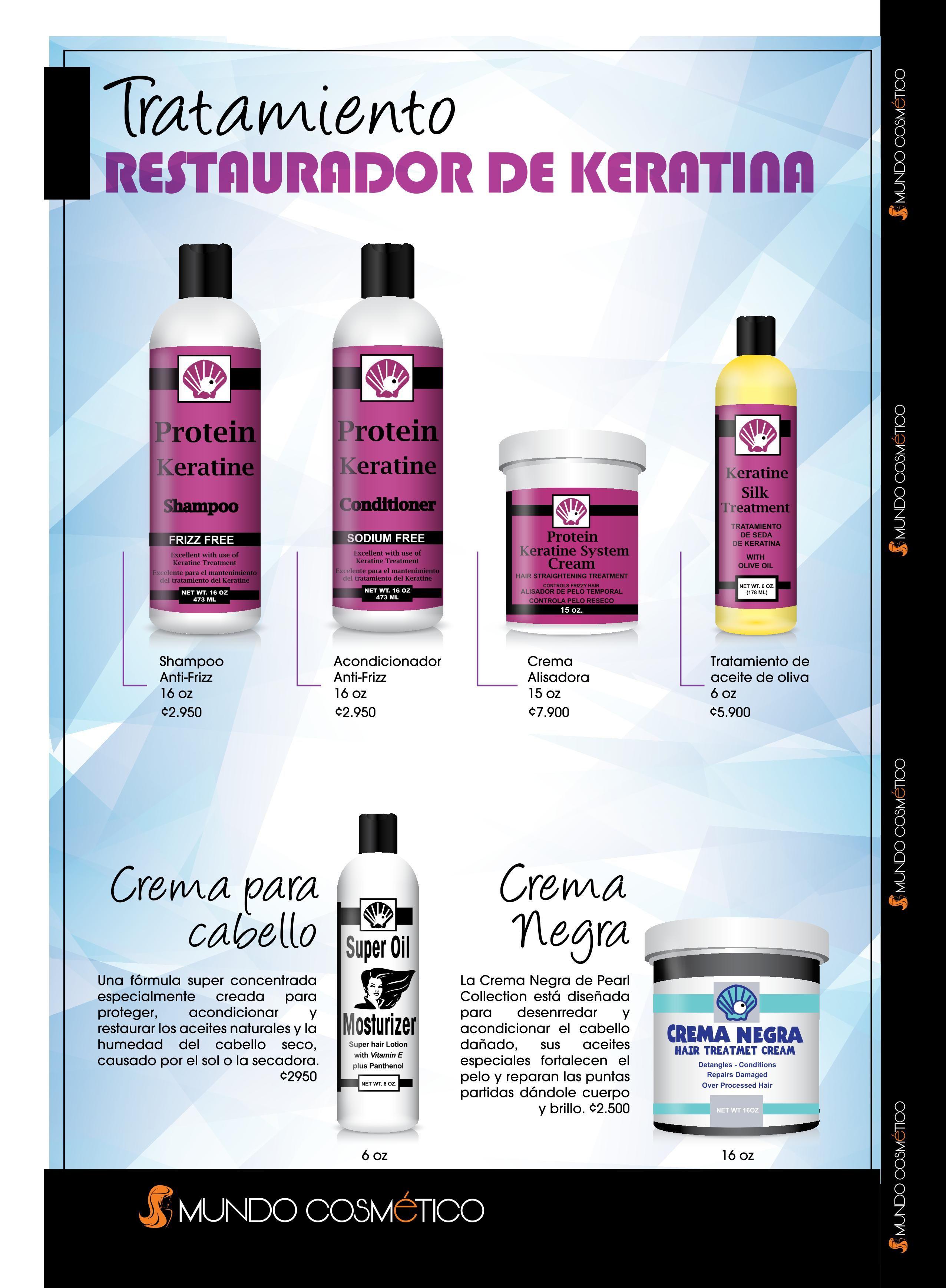 Tratamiento Restaurador de Keratina.
