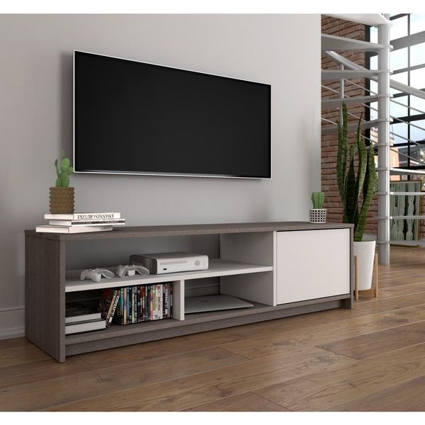 Bestar Small Space 53.5-inch TV Stand | Design. Furnishings ...
