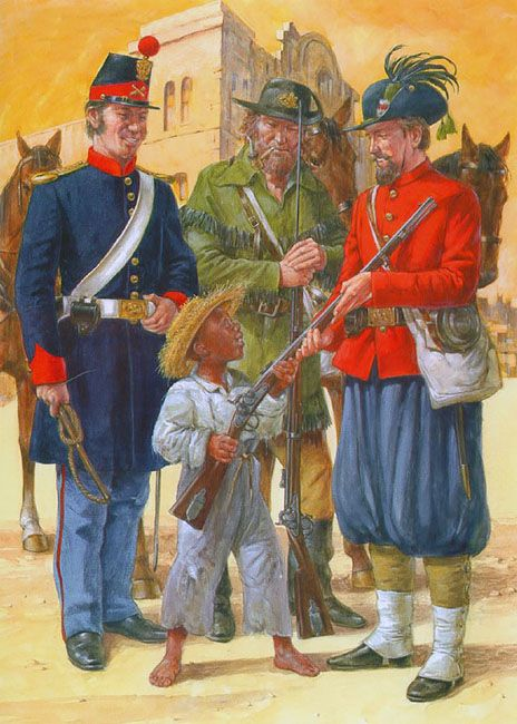 """Louisiana Volunteer Militia, 1860-61"" • Washington Artillery  • Orleans Rifles  • Garibaldi Guards"