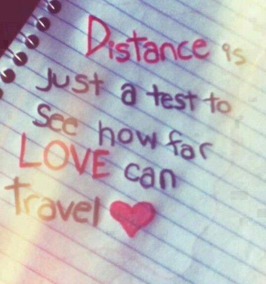 Yeah....our love travels far :)
