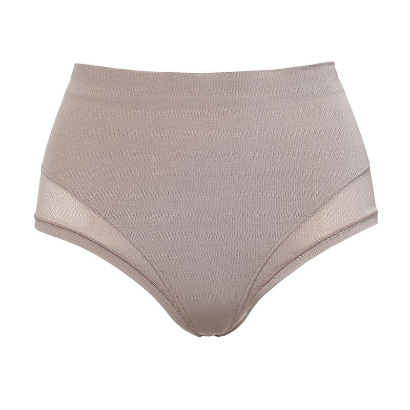 High cut brief that shapes the belly (Model 03363)