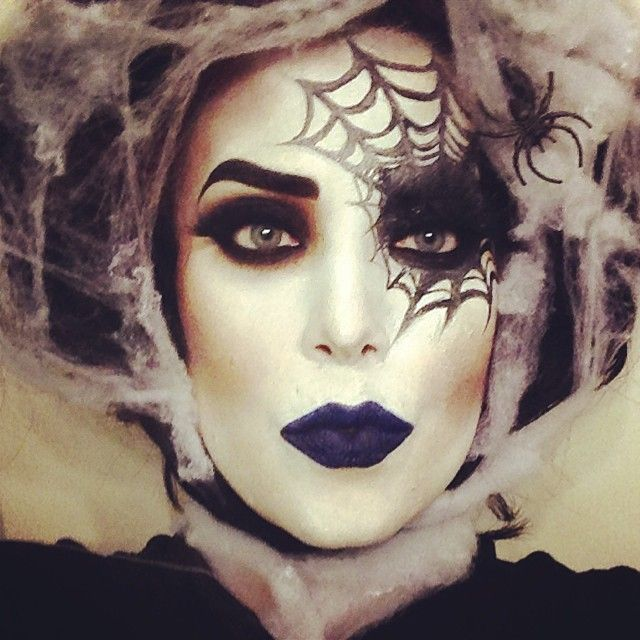 Instagram post by valerie vixen valerievixenart maquillage araign es et halloween - Maquillage halloween araignee ...