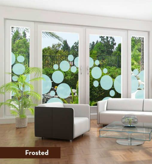 How To Tastefully Decorate With Polka Dots Window Film