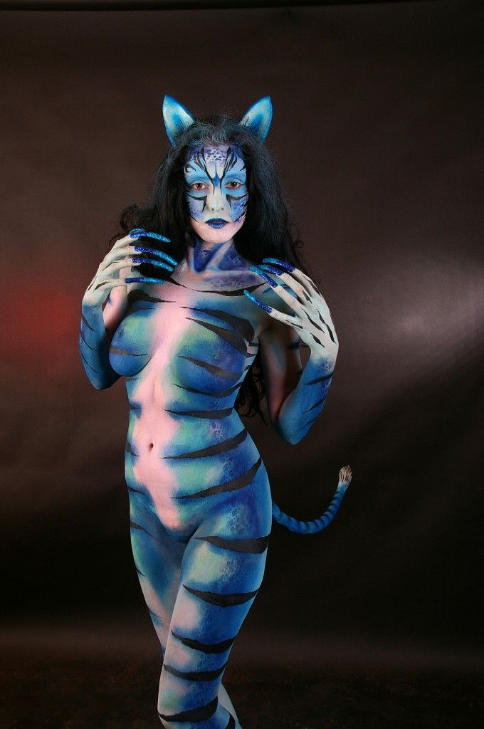 Becca Blue Cat Commission 001 by marshon on deviantART