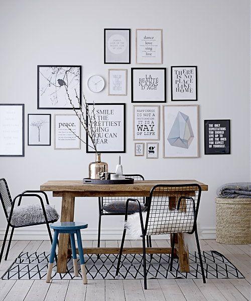 Grafische Vormen In Interieur Woontrendz Eetkamer Decoreren Eetkamer Muren Thuisdecoratie