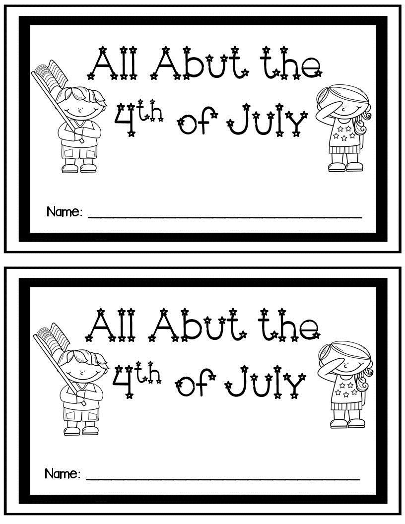 4th Of July Day Activities Centers For K 2nd Special Education Home Kindergarten Worksheets Kindergarten Worksheets Printable Free Kindergarten Worksheets [ 1056 x 816 Pixel ]