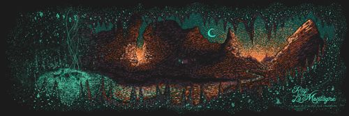Ray LaMontagne Red Rocks Poster by James Eads  (Onsale Info)