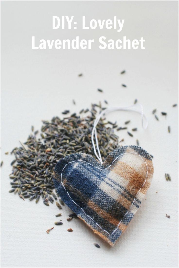 Lovely #Lavender #Sachet,  Lovely DIY Lavander #Scented Sachets